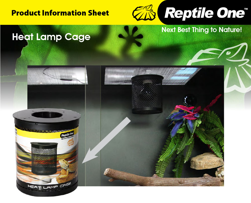 Heat Lamp Cage